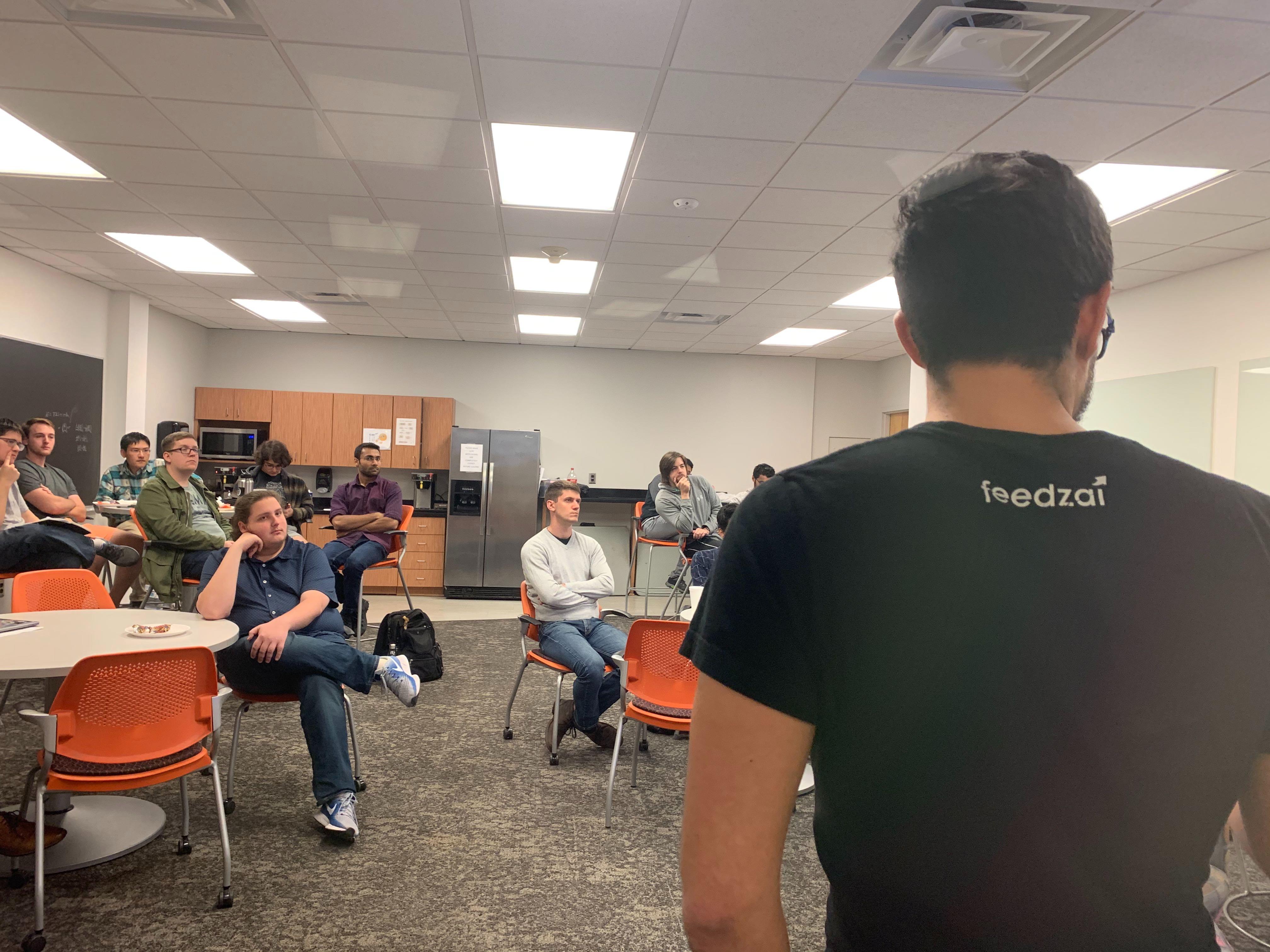 Jonas Cuadrado talks Data Science at Feedzai
